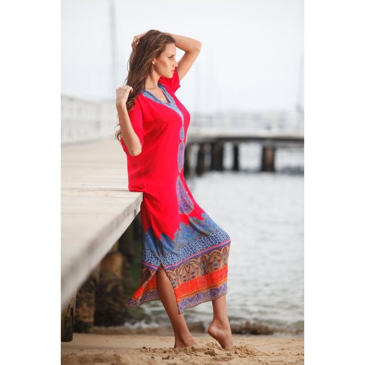 Babylon Silk Dress-Ruby Red. Available online at bohochic.com.au or in store at Boho Chic Boutique 1/111 Lawrence Hargrave Dr, Stanwell Park NSW 2508. Ph: 0242943111