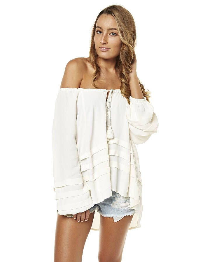 BILLABONG CABO WOMENS TOP - COOL WHIP