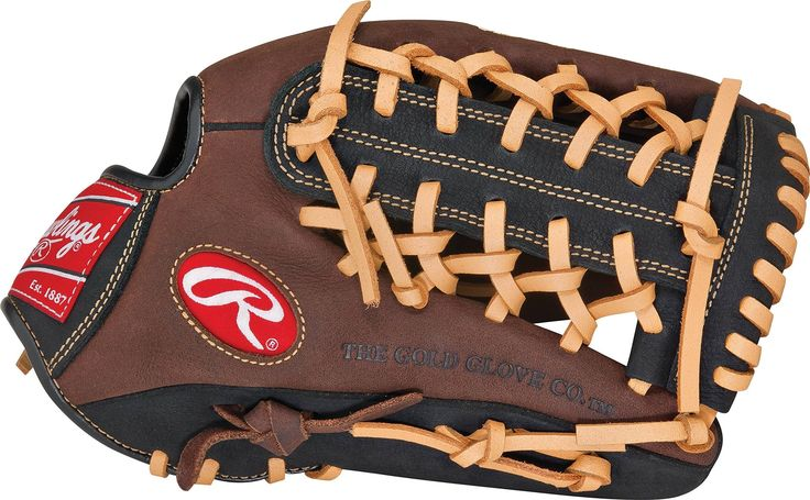 Rawlings Youth Player Preferred Glove Right Hand Throw 11 5 Inch 11 1 2 Inch Youth Pattern Modified Trap Eze Web Conventional Rawlings Hand Gloves Gloves