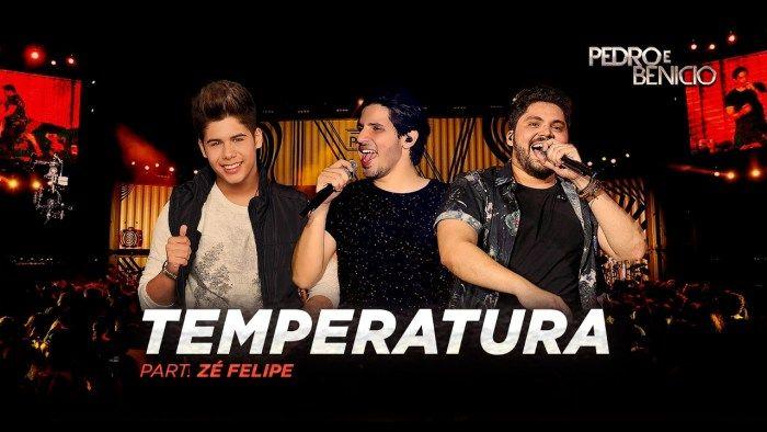Pedro e Benício lançam a música Temperatura
