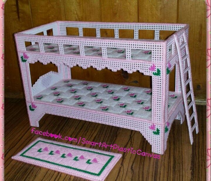 413 Best Plastic Canvas Dolls Furniture Images On