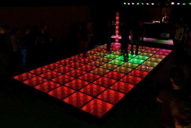 Sustainable Dance Floor The first Sustainable Dance Club WATT in Rotterdam NL