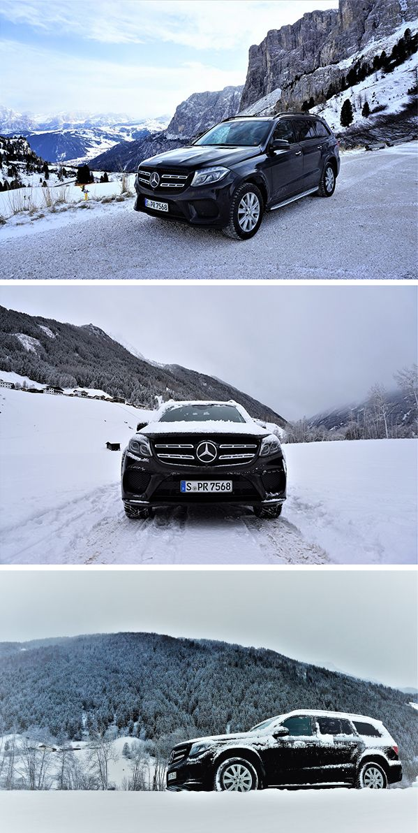 Comfort, agile dynamics and also best-in-class safety- that's the Mercedes-Benz GLS.  Photo by Heiko Kunkel (www.olschis-world.de) for MBsocialcar