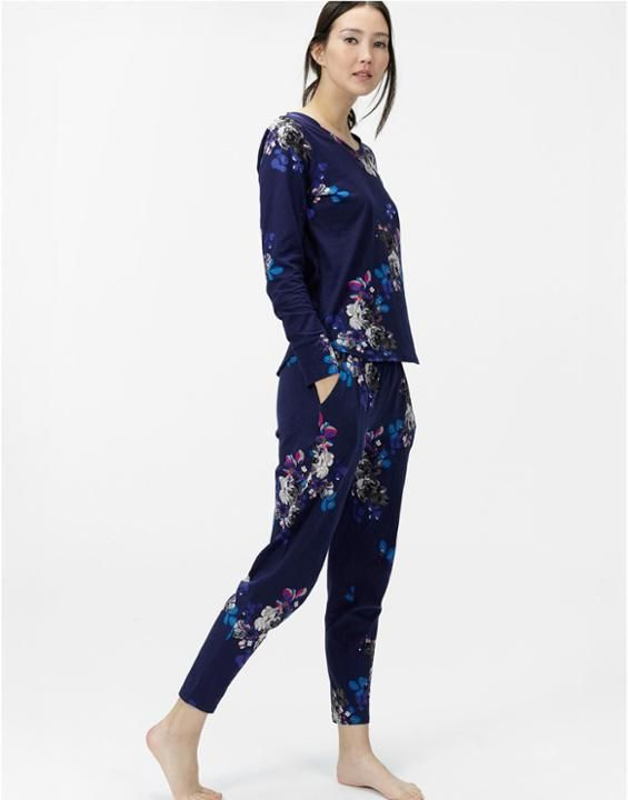 ALINAJersey Tapered Pyjama Bottoms
