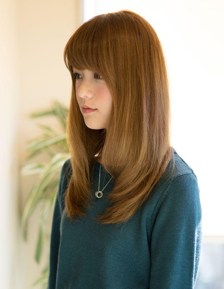 綺麗め内巻きセミディ(MO-218) | ヘアカタログ・髪型・ヘアスタイル|AFLOAT(アフロート)表参道・銀座・名古屋の美容室・美容院