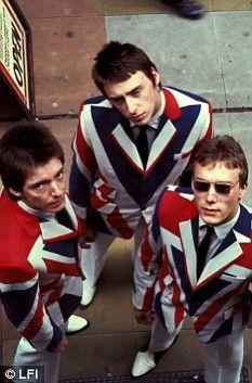 The Jam: Paul Weller with bandmates Bruce Foxton and Rick Buckler in their mod heyday