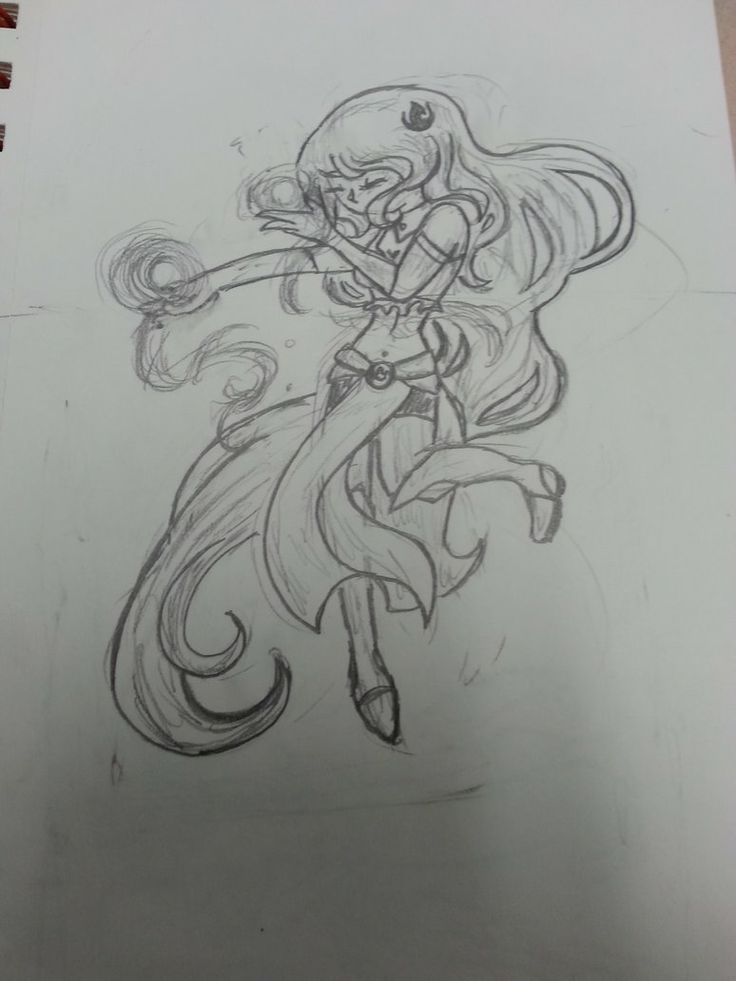 Sketch of Kasai ~ She is so cute  Read about her here:  http://pandorarose22.deviantart.com/art/LOK-OC-Kasai-Umare-Profile-V1-454249305