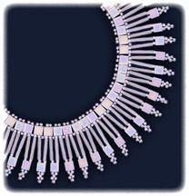 Snowfall Necklace Pattern at Sova-Enterprises.com