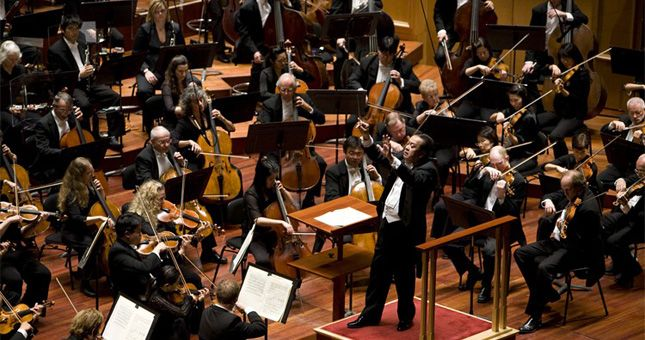Music to ignite the soul. San Diego Symphony is a mere blocks away, the perfect proximity to catch dinner before a performance.