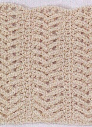 Crochet Stitch - Free Crochet Diagram - (woman7)
