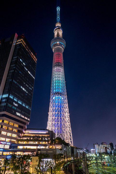 Tokyo SkyTree, Japan - has a Sanrio store :)