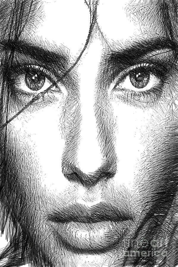 Female Expressions 936 Digital Art by Rafael Salazar