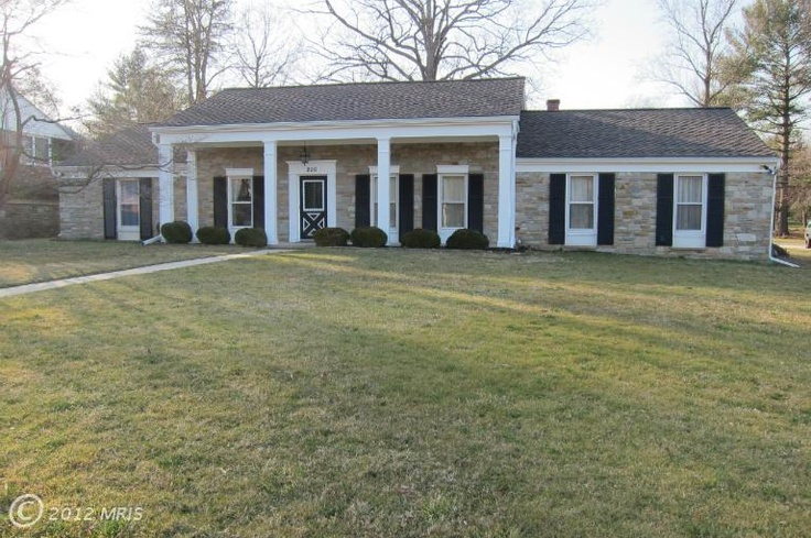 Stone Rancher type home in Aberdeen, #Maryland