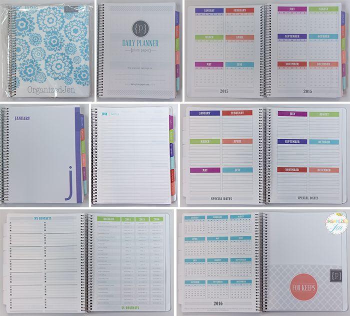 Calendar Vs Planner : Best ideas about plum paper planner on pinterest