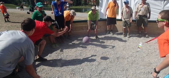 ga-ga or israeli dodgeball, played in a large octagon | Youth & Scout Games | Pinterest | Ga ga