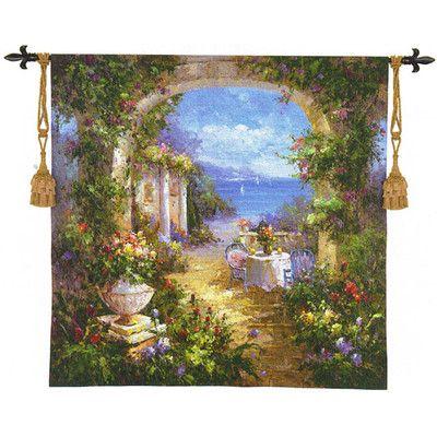 Mediterranean Arches II Tapestry