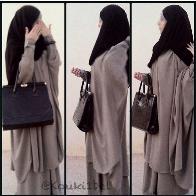 Jilbab with scarf