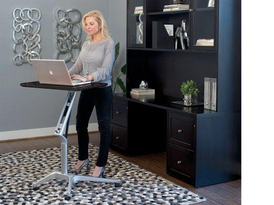 Dania Desks Annua Work Table Venge Adhd