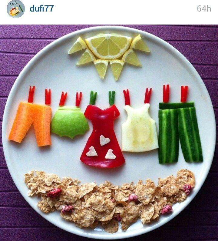 I LOVE this!!! Clothes line snacks!