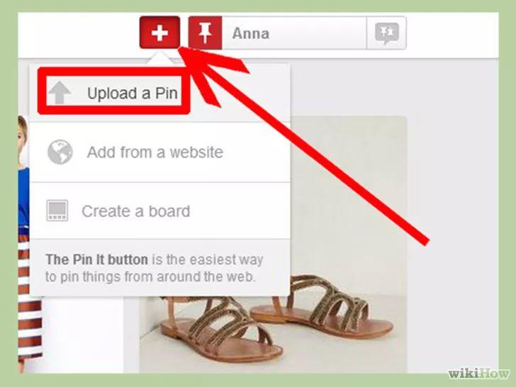 Изображение с названием Upload Photos on Pinterest Step 8