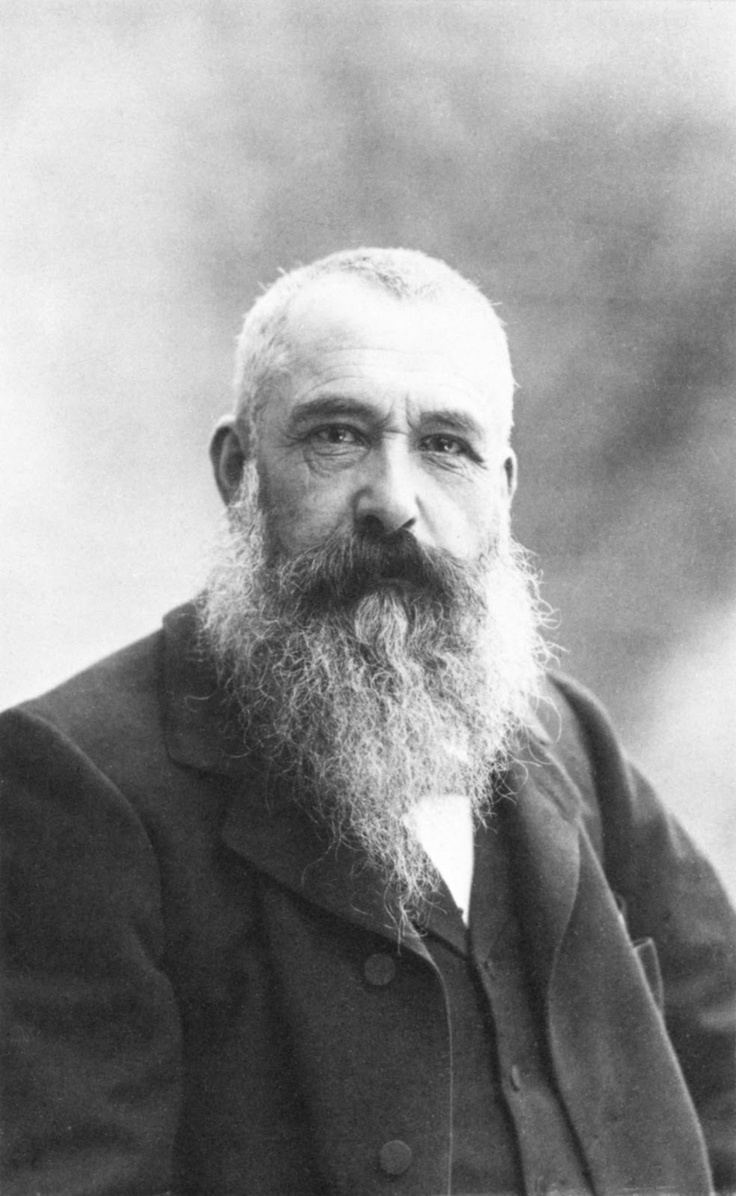 Claude Monet. I adore his art and I was so fascinated when I studied him... I just wanna have a cup of coffee with this man.