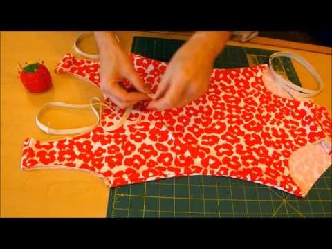 How to Make a Swimsuit, no serger required! - YouTube