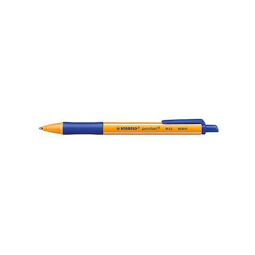 Penna a sfera scatto Pointball Stabilo Blu 1,2 mm - http://www.cancelleria-ufficio.eu/p/penna-150/