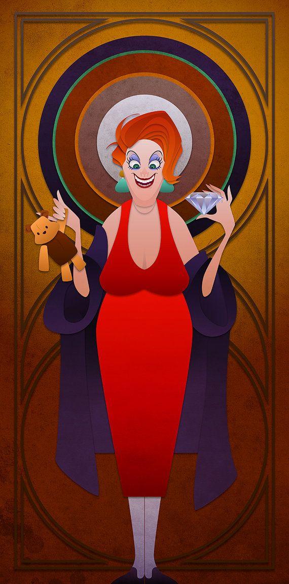 Disney-Schurken-Serie - Madame Medusa