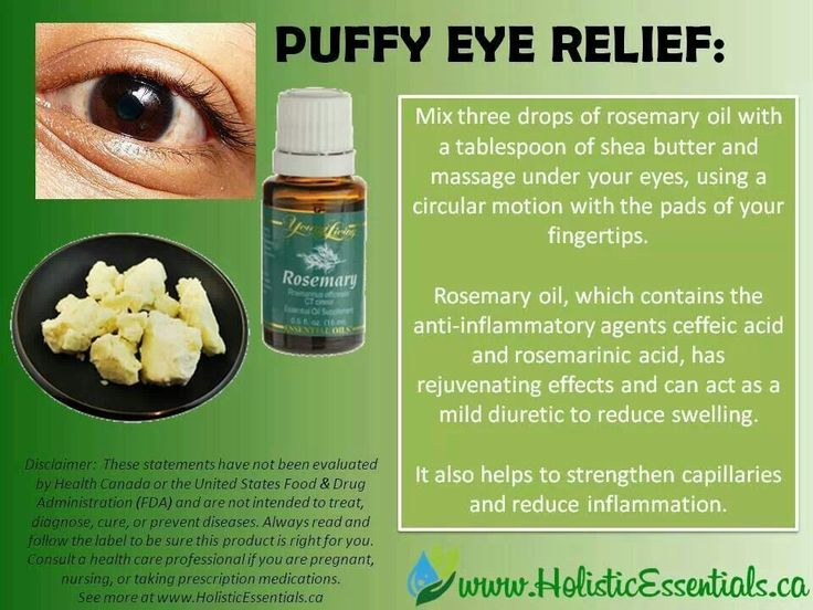 Puffy eye relief