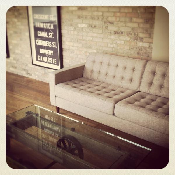 Gorgeous Reverie Sofa Vingette, by EQ3!