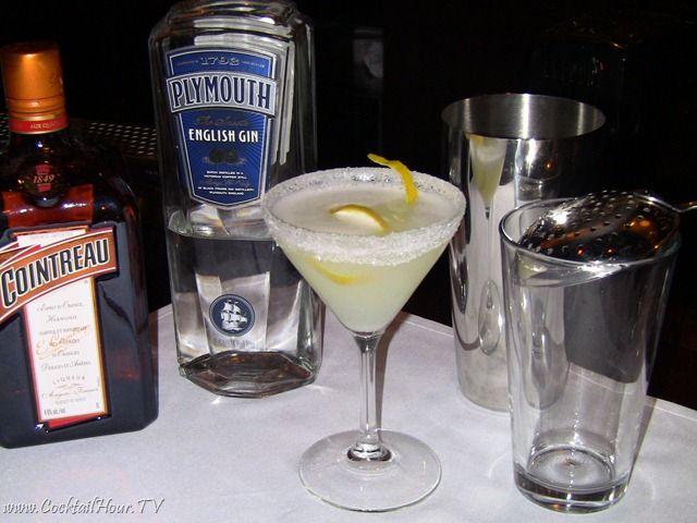 I Cocktails: .  WHITE LADY