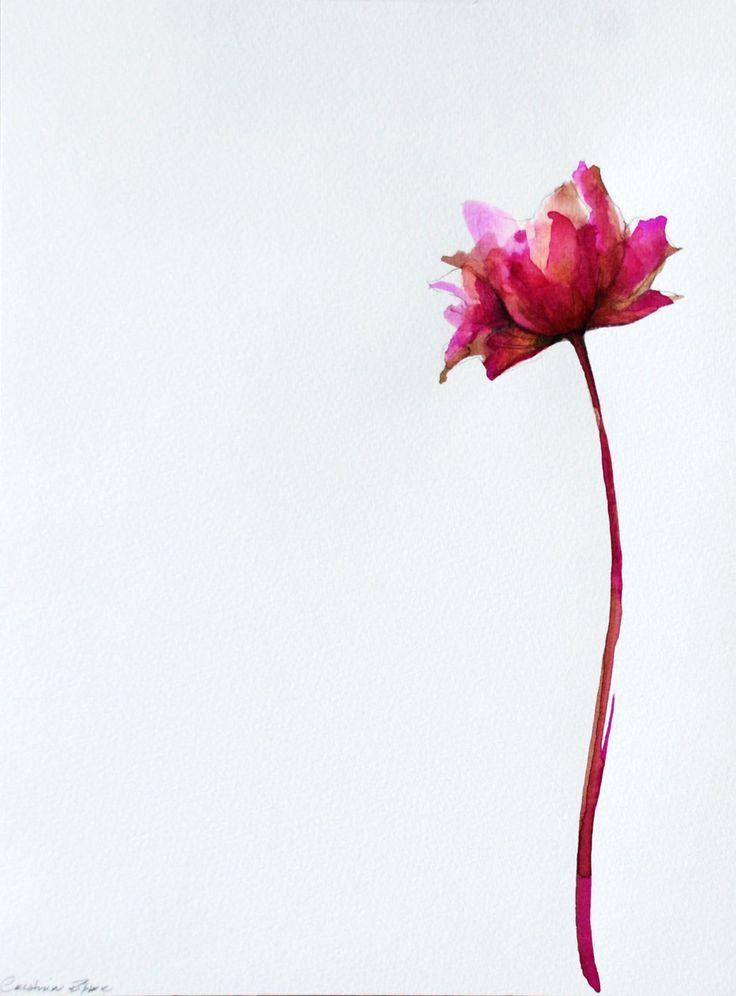 flor aquarela