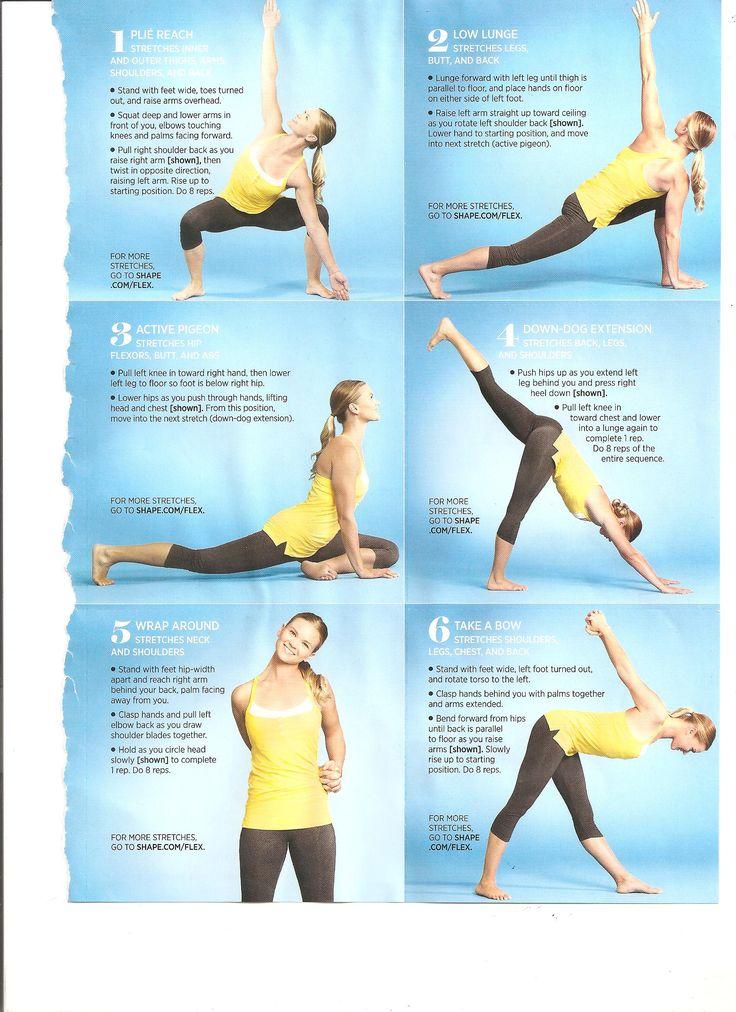 Flexibility workout Flexibility workout, Daily workout