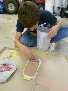 Science experiment sedimentation Env Sci