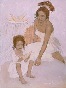 Figurative Painting by Russian Artist Valeria Kotsareva