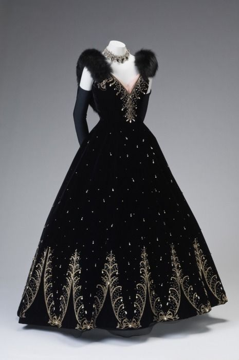 Ball Gown by Philip Hulitar, circa 1950