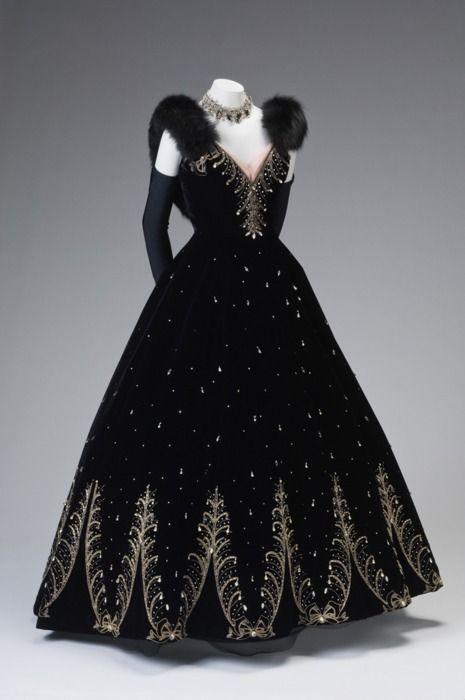 Ball Gown by Philip Hulitar, circa 1950