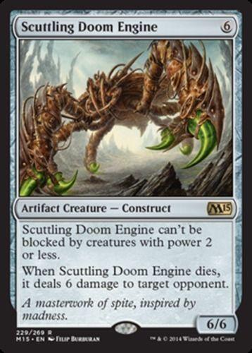 Scuttling-Doom-Engine-x4-Magic-the-Gathering-4x-Magic-2015-mtg-card-lot