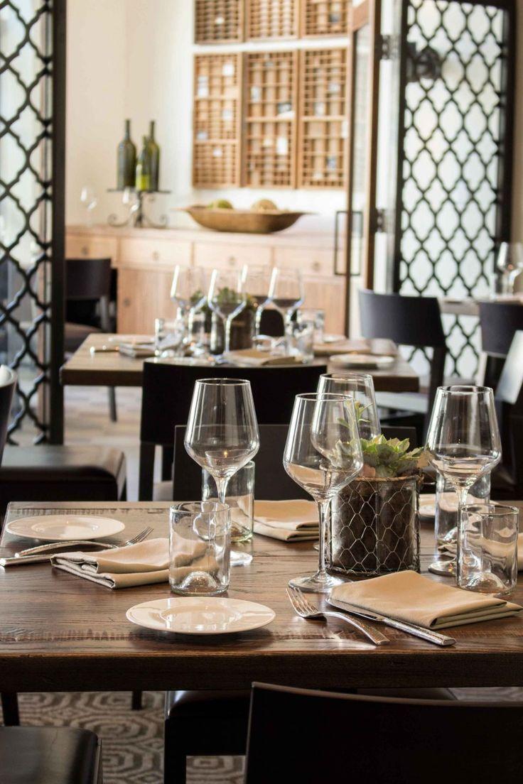 Watertable Restaurant Menu