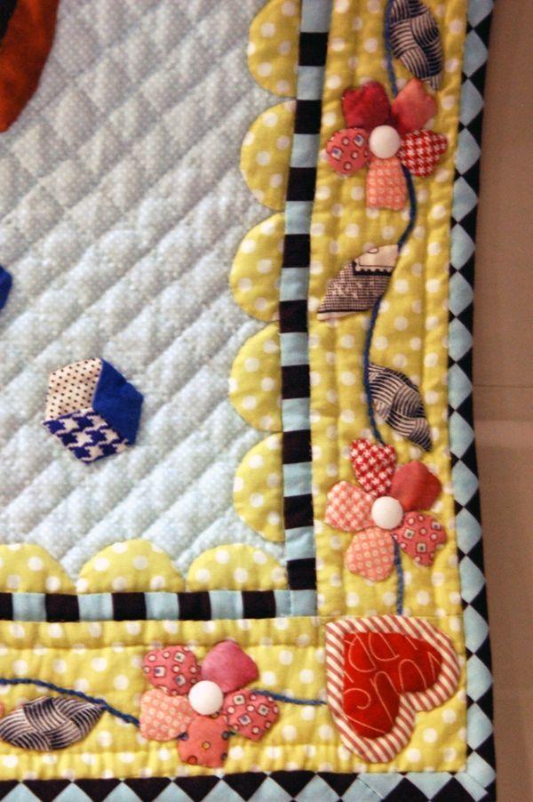 such a cute quilt border.