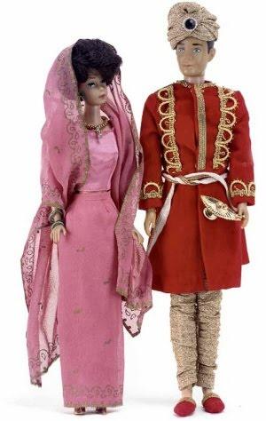 Arabian Nights Barbie & Ken