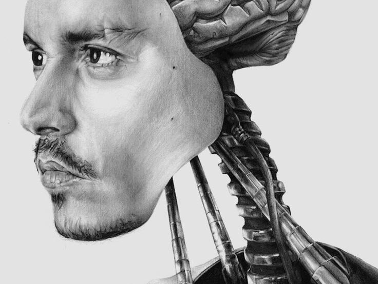 #drawing #face #design #machine