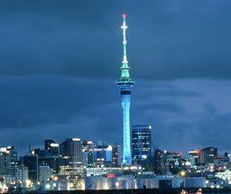 Auckland's Sky Tower, 328m