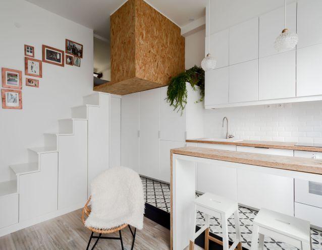 Petit Duplex Des Idees Deco Pour Amenager Un Petit Espace Elle Decoration Disposition D Appartement Petit Espace Amenagement Petit Appartement