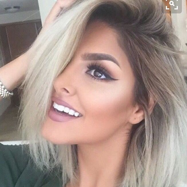 Made my mind up this evening. This is the next style and color I shall do at our next session. Love the dark roots that are incorporated. Much needed because my hair grows pretty fast and I have dark roots. This will be perfect