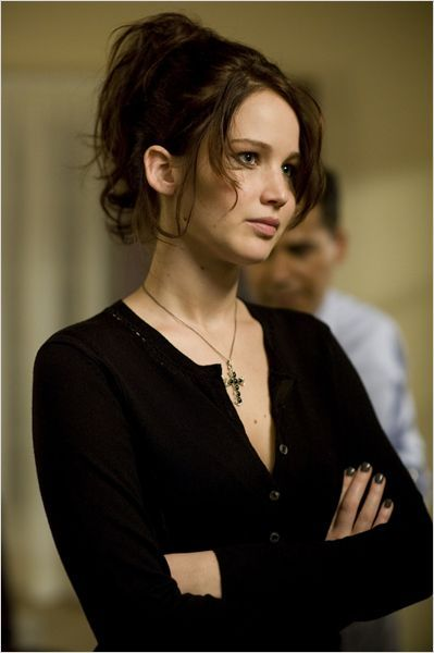 Jennifer Lawrence, Silver Linings Playbook: I love the character Tiffani because she is so neurotic, eccentric and vulnerable yet relatable. I love that she stands up for herself and doesn't take sh*t from anyone.