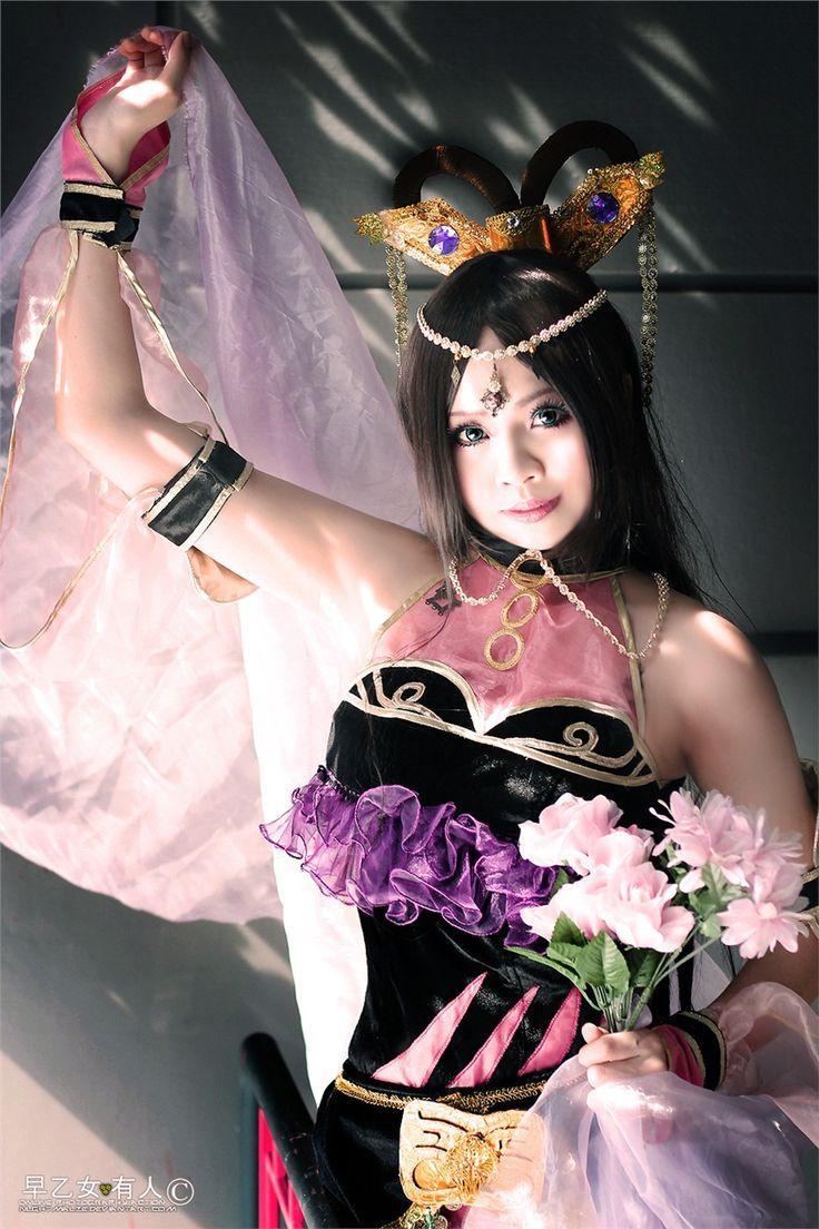 37 best diao chan images on pinterest dynasty warriors samurai warrior and cg art - Seven knights diaochan ...