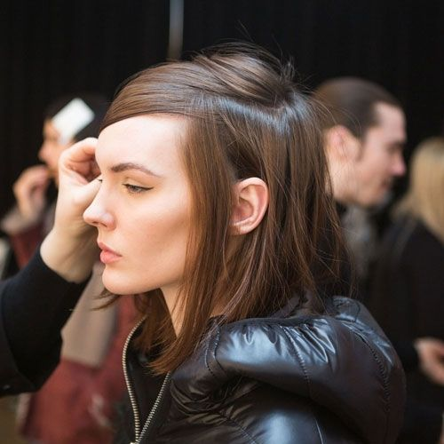 NYFW Hair: Downtown Chic at Sandy Liang