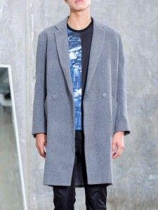 Mono Felt Overcoat AM.XANDER