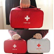 Portátil Kit de Sobrevivência de Emergência Médica de Primeiros Socorros Saco Medicina Saco De Armazenamento Para Viagens Outdoor Sports Camping Ferramentas de Repouso Médico(China (Mainland))